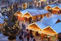 Christmas spirit / Let yourself be enchanted by the magic of Christmas and come to France to discover the beauty of the decorations, the enchantment of the Christmas markets and all the traditional delicacies.