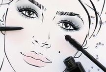 Eyes / Beauty inspiration for your eyes, lids, and lashes with CIRCA Beauty's richly-pigmented color cosmetics.