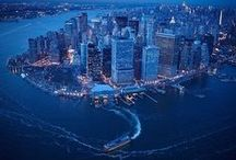 New York / If you like, also see the boards Roosevelt Island, Architecture, Photos - Urban Night, Places, Aerial Views, Scotland, Greece, Photos ...