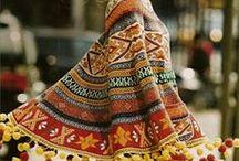 poncho.. / fashion, ponchos, boho, design, bohemian, gypsy, for women