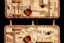 boho collage / #boho #gypsy #bohemian #ethno, boho decor, boho home, unique collage, handmade