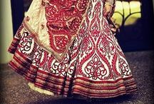 Wedding Lehengas / Ideas, colours and combinations that will inspire you to put together a truly spectacular lehenga.
