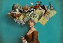 Book Quirkiness / A collection of odds, ends, accessories and quirky, bookish items.