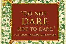 Quotes: C. S. Lewis / Wisdom and wit from the great C. S. Lewis.