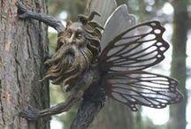 Fairy Tale Gardens / Fairy gardens and fairy doors