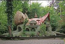 Fairy Tale Dwellings / fairy tale houses, dwellings, castles, cottages