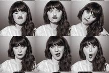 I wanna be.. Zooey Deschanel!!  / by Lilli Connelly