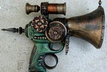 Steampunk stuff / Gadgets and guns, cogs and costumes. / by Roni Culver