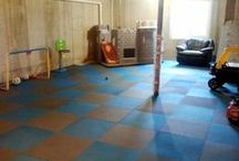 Kids Play Room / There are many floor and mat options available for kids play mats and playroom flooring. At RubberFlooringInc.com, we are parents too and we have made it our mission to come up with a product line that is not only fun for your children but also products that are safe to use. Whether you have a baby on the way and need an activity mat, are passing through the toddler age, or have older kids who like to wrestle around and rough house now and then, we believe we have the right product for you. / by RubberFlooringInc