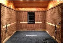 Horse Stall & Animal Flooring / Recycled rubber horse stall mats have long been the choice livestock owners, breeders and farms of every size. Our portable horse mating also can be transported wherever needed to provide safe and stable footing for horses. Horse Matting offers protection for the floors walls and doors for wash racks in all kinds of livestock areas. / by RubberFlooringInc
