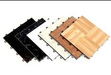 Dance Tiles / These modular tiles are perfect for dance flooring and are DIY friendly