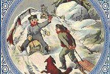 Talven juhlat / Reseptejä, talvisia sisustusideoita