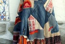 craft blue jeans redo
