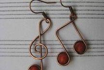 craft oorhangers / earrings