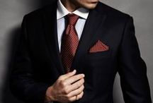 Mr. Gentleman / A well-dressed man, a gentleman.   Shiny shoes, the right shave and good manners don't need a reminder.