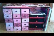 craft boxes & papercraft