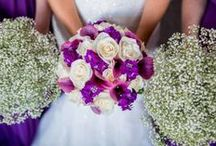 Passion for Purple / Pictures of some of the beautiful work we have created in all shades of Purple.