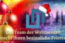 Webmeister Weihnachten / Das Team der Webmeister ist im Weihnachtsfieber unterwegs und setzt für Kunden aus dem B2B Social Media Weihnachtslösungen um