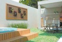 Meu quintal dos sonhos! / Inspirations for my backyard!