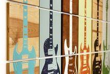 music guitar art