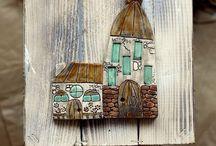 My little ceramic house