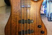music guitar bass
