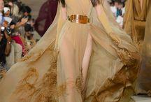 Lady's long evening dresses / Long dresses are elegant