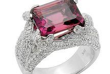 Gemstone rings / Beautiful rings