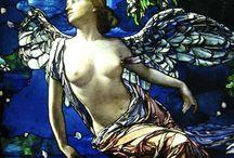 Stained Glass / Beautiful glass mosaics