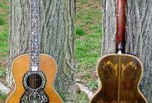 music guitar antique