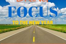 Happy New Year / Start the new year off on the right foot with these ideas!