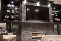 Basement Designs / The lower deck