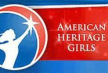 American Heritage Girls (AHG) / All 4 of my girls are in American Heritage Girls (AHG). It's like Christian scouting for girls. They learn about their faith, make friends, earn badges, and have a lot of fun. Are you interested in AHG or do you want to get some fresh ideas for your troop? Follow this board!