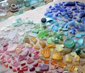 Creative Makes Using Sea Glass