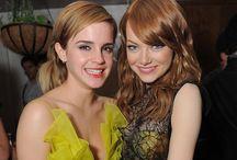 Emma / Emma Stone . Emma Watson . Emma Roberts / by Amira Affendi