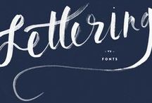 Type & Lettering Inspiration / by Danthonia Designs