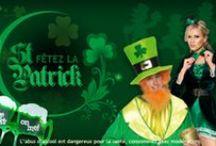 Saint-Patrick / Un tableau entièrement dédié à l'univers très vert de la St-Patrick !