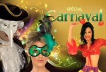 Le Carnaval  / Le Carnaval est une période de divertissement pendant laquelle l'ordre établi et la distribution des rôles sont renversés. Le roi devient un humble habitant, le mendiant est sacré roi du Carnaval, chacun se promène masqué ou grimé, et se cache derrière son masque pour faire ce qui lui est interdit en temps normal.