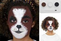 Le Maquillage de Carnaval / Un tableau entièrement dédié à l'univers du maquillage de carnaval !