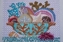 Sea cross stitch