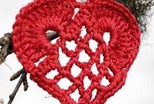 harten haken / haakpatronen van harten
