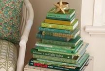 Christmas Trees and books
