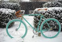 Winter & bicycles