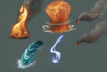 Effects / Fire, water, dust, magic, ect.