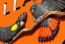 Bird Signs / Signs that have bird artwork on them.