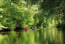 Doen in het Nationaal Landschap / Fietsen, wandelen, kanoën, zwemmen, paardrijden, zeilen/varen, kitesurfen... Het Nationaal Landschap biedt volop mogelijkheden!