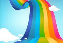 RainboW Colours  ت / ☻☺☻  Радужное настроение  ☺☻☺