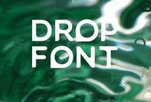 Drop Font / Letters & Fonts
