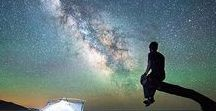 Milky Way / The question that I started off with was, I thought, very simple. It was just 'Is there a massive black hole at the center of the Milky Way?' But one of the things I love about science is that you always end up with new questions. (Andrea M. Ghez) #milkyway #space #galaxy