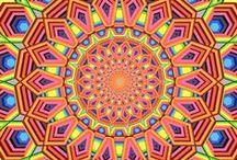 Mandala - Gif - Kaleidoscope / animations - gif - ۞ - video